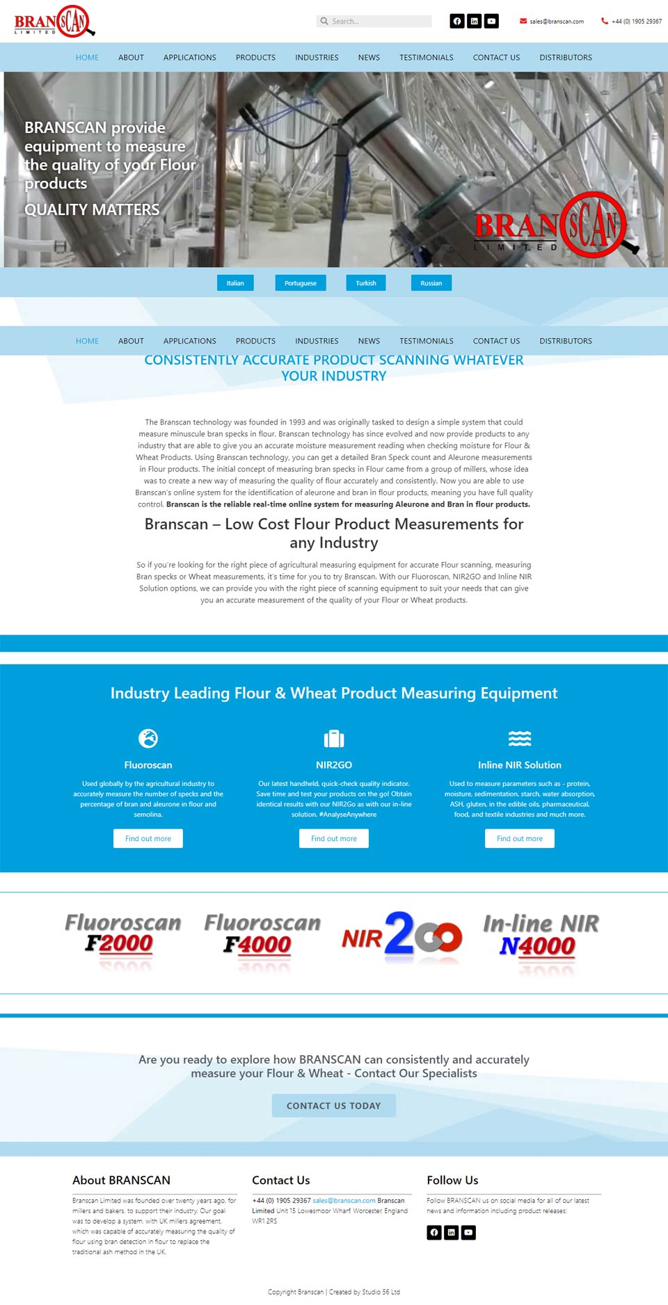Branscan New Website Design