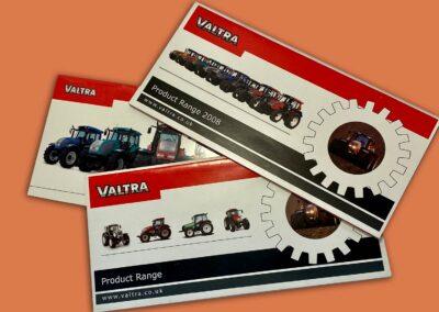 Valtra Agricultural Brochure Design